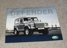LAND Rover Defender BROCHURE 2008-2009 90 110 PICK UP STATION WAGON Hard Top