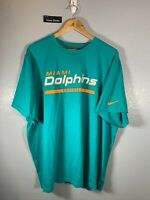 Nike Miami Dolphins Football Teal Shirt