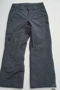 Spyder Snowboarding Pants (30W; Small) Gray Insulated Cargo Pants