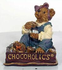 Boyd's Bears - Fannie Sweetcheeks . Never Enough Chocolate 2000 Figurine
