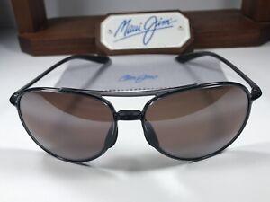 Maui Jim Alelele Bridge MJ 438-11 Smoke Grey Sunglasses Maui Rose Polarized Lens