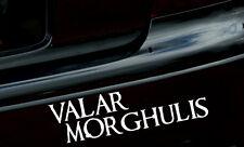 "8"" VALAR MORGHULIS Vinyl Decal/Sticker Game of Thrones car macbook ipad TV"