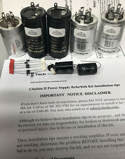 Power Supply Capacitor Refurb Kit Harman Kardon Citation II Tube Amplifier Amp