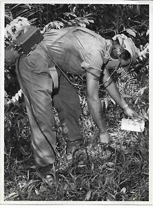 3 RAR AUSTRALIAN ARMY BORNEO WAR LAND MINE PUBLIC RELATIONS PHOTO VIETNAM