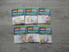 BANJO MINNOW WEEDLESS NOSE HOOKS SIZE #8 6 PACKS