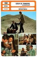 FICHE CINEMA : COEUR DE TONNERRE - Kilmer,Shepard,Apted 1992 Thunderheart