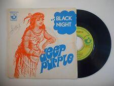 DEEP PURPLE : BLACK NIGHT *POCHETTE USEE* ♦ 45 TOURS ♦
