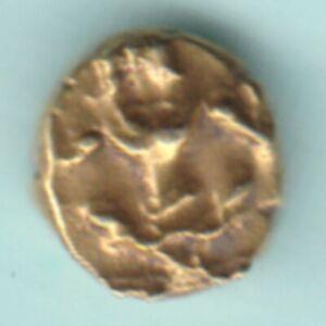 MYSORE STATE KANTIRAVA NARASA RAJA WODEYAR 1638-1659 AD GOLD KANTHIRAVA FANAM