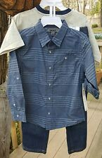 DKNY boys  4T shirt and pants outfit NWT ***MSRP $64.00***