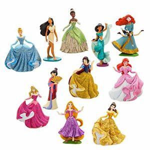 10 Piece Princess Deluxe Figure Dolls Play Set Film Fairytale