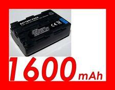 """★★★ """"1600mA"""" BATTERIE Lithium ★ Pour Sony α DSLR- ALPHA A500, A550 NP-FM500H"""