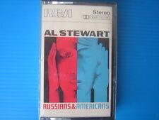 AL STEWART RUSSIAN & AMERICANS MUSICASSETTA K7 SIGILLATA SEALED