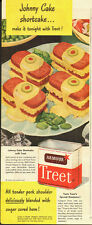 """1946 Vintage ad for Armour Star """"Treet""""~Canned meat/Olives/Eggs (080313)"""