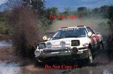 Bjorn WALDEGARD Toyota Supra Turbo Safari Rally 1989 Photographie 1