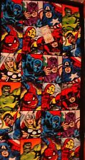 Marvel Comics hero character beach towel