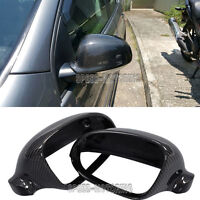 Replacement Carbon Side Mirror Covers Cap for Volkswagen Golf 5 V MK5 GTI R32
