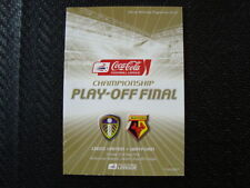 Away Teams S-Z Championship Final Football Programmes