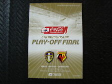 Watford Away Team Championship Football Programmes