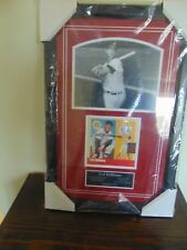 "SALE! Collect TED WILLIAMS Autographed 3 Piece Framed Collage 16 1/2"" x 24"" NEW"