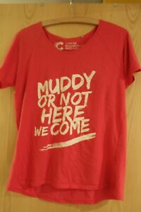 Race for Life pretty muddy t-shirt