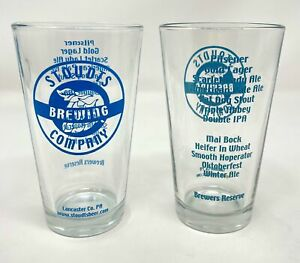 Stoudts Pint Glass Beer Glass Set of 2