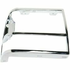 for 1989 1992 Ford Ranger RH Right Passenger Headlamp Door Silver With GT Option