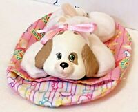 Hasbro Puppy Surprise Baby Pups Sleeping Bag Brown Replacement Pouch Pink 1992