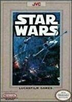 Star Wars Nintendo NES Game Authentic