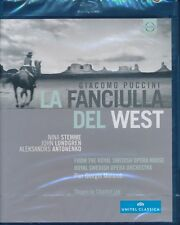 Giacomo Puccini La Fandiulla Del West Bluray Blu-ray NEW and sealed Nina Stemme