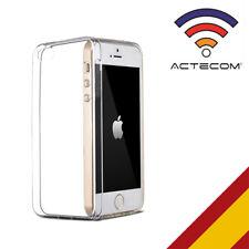FUNDA CARCASA TERMOPLASTICO ULTRASLIM 0,3MM PARA IPHONE SE 5 5S  + PROTECTOR