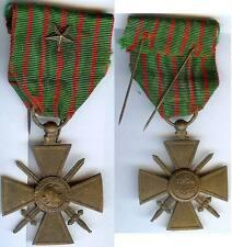 Médaille  - Croix de guerre de Verdun 1914/1918 1 étoile de citation