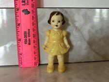 Vintage Irwin Hard Plastic Little Girl Doll