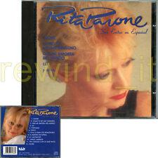 """RITA PAVONE """"SUS EXITOS EN ESPANOL"""" RARO CD IN SPAGNOLO"""