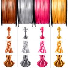 Geeetech filamento PLA Seta Argento Setosa Lucido filamento 1.75mm 1 kg