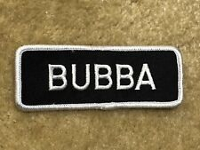 BUBBA MOTORCYCLE PATCH---002