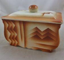 Art Deco Porzellan Dose Keksdose Spritzdekor Villeroy Boch Dresden
