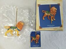 Hallmark Keepsake Ornament Carousel Ride Majestic Lion 2004