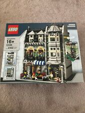 Lego 10185 Creator Green Grocer New Sealed in Box w/ Manufacturing Tape Us