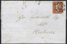 1843 1d Red Pl 25 Ng Superb Norwich Maltese Cross Cat. £1800.00