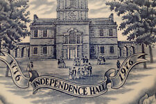 Avon Independence Hall Bicentenial Plate 1976 Special Edition Made in England