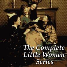 Little Women - The Complete Series - Louisa May Alcott - 4 Books - MP3 CD
