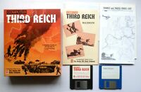 Amiga - COMPUTER THIRD REICH - Strategy Tactics Game - AVALON Hill 1992 - TESTED