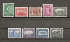 NEWFOUNDLAND 1929 SG 179/87 MNH Cat £110