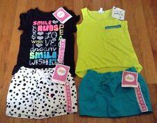 NEW Girls XS 4 5 Clothing Shirt Skirt Shorts Skort Outfits Tank Top