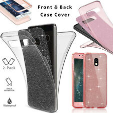 Waterproof Soft Silicone 360 Case Cover For Samsung Galaxy S9 S8 S7 S6 J3 Pro A5