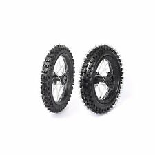 80/100-12+ 60/100-14 Front Rear Wheel Rim Tyre for Pit Dirt Bike KLX TTR SSR