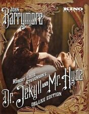 Dr. Jekyll and Mr. Hyde Blu-ray 1920 John Barrymore Deluxe Edition