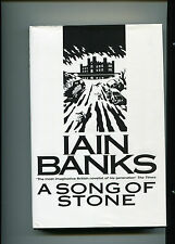 IAIN BANKS - A SONG OF STONE - UK HB 1ST/1ST SIGNED BY THE LATE IAIN BANKS