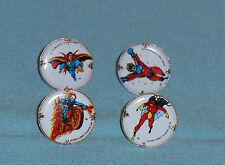 vintage Marvel SUPERHERO GUMBALL MACHINE RINGS Spider Woman Ghost Rider Superman