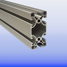 Alu - Profil 40 x 80 Nut 8 Superleicht Item Raster - Aluminiumprofil - Nutprofil